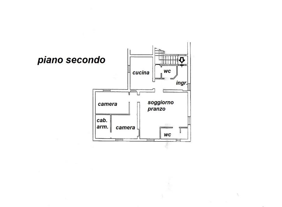 Planimetria 1/1 per rif. R/3237