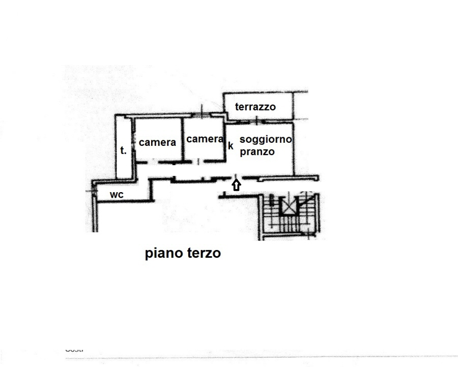 Planimetria 1/1 per rif. R/3270