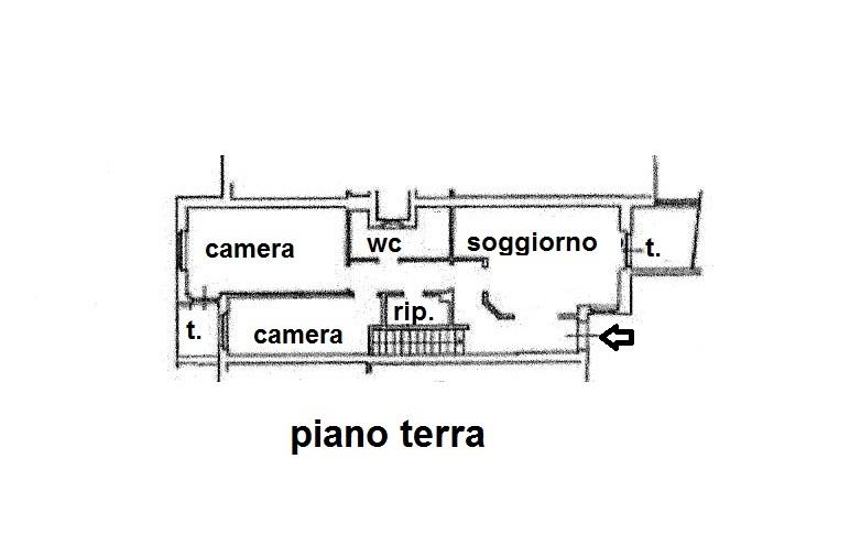 Planimetria 2/2 per rif. R/3250