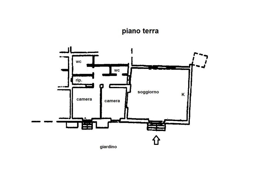 Planimetria 1/1 per rif. R/2737