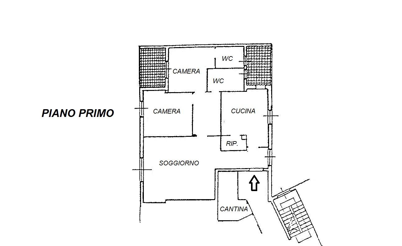 Planimetria 1/1 per rif. R/2798
