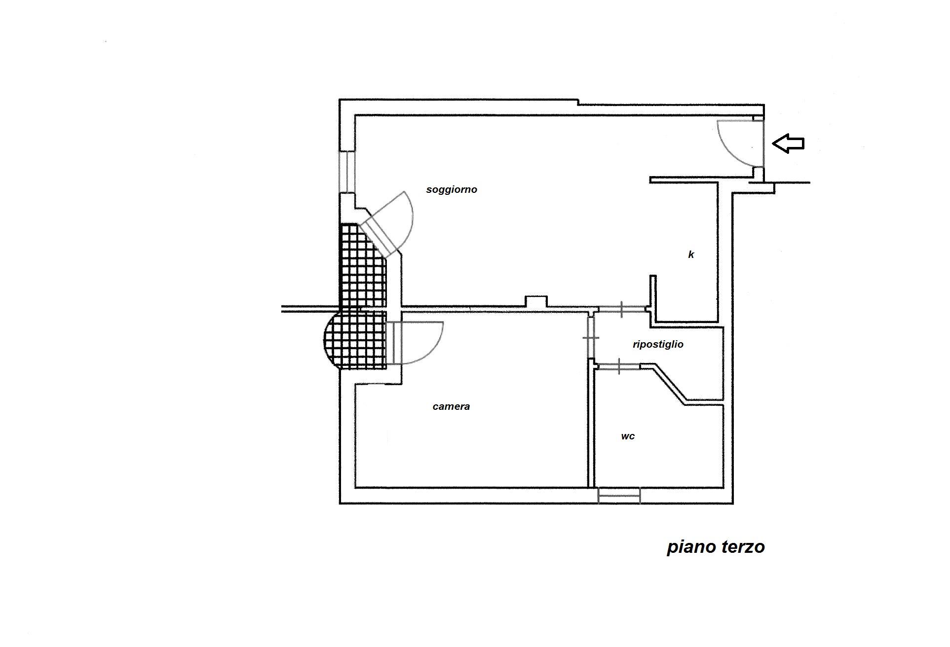 Planimetria 1/1 per rif. R/2885