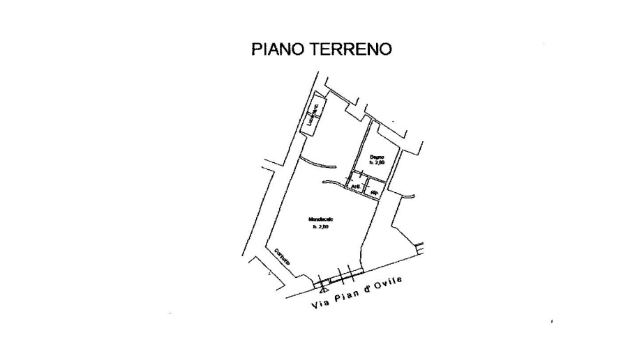 Planimetria 1/1 per rif. R/2529
