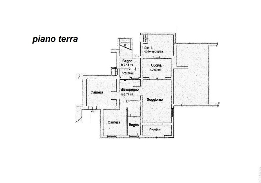 Planimetria 4/4 per rif. R/3081