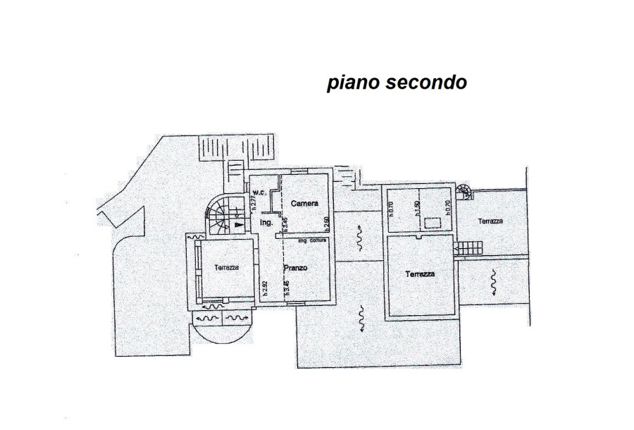 Planimetria 3/4 per rif. R/3081