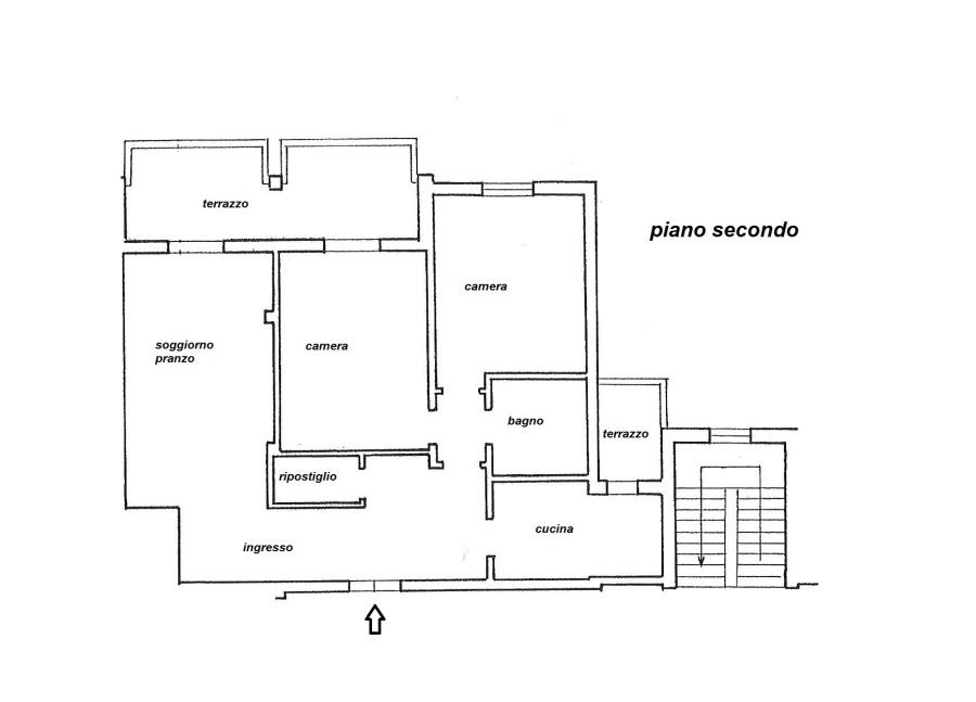 Planimetria 1/1 per rif. R/2957