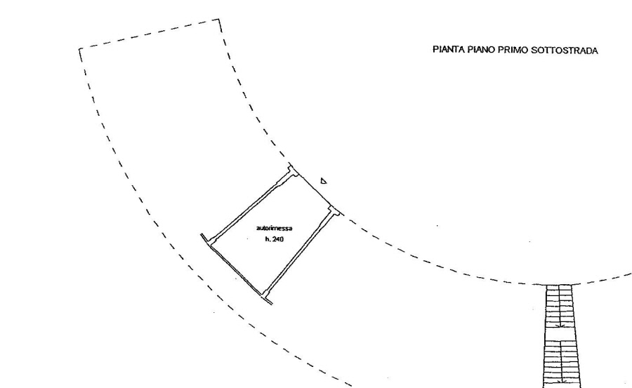 Planimetria 2/2 per rif. R/2445