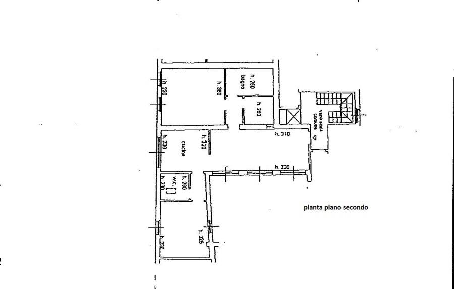 Planimetria 1/2 per rif. R/2445