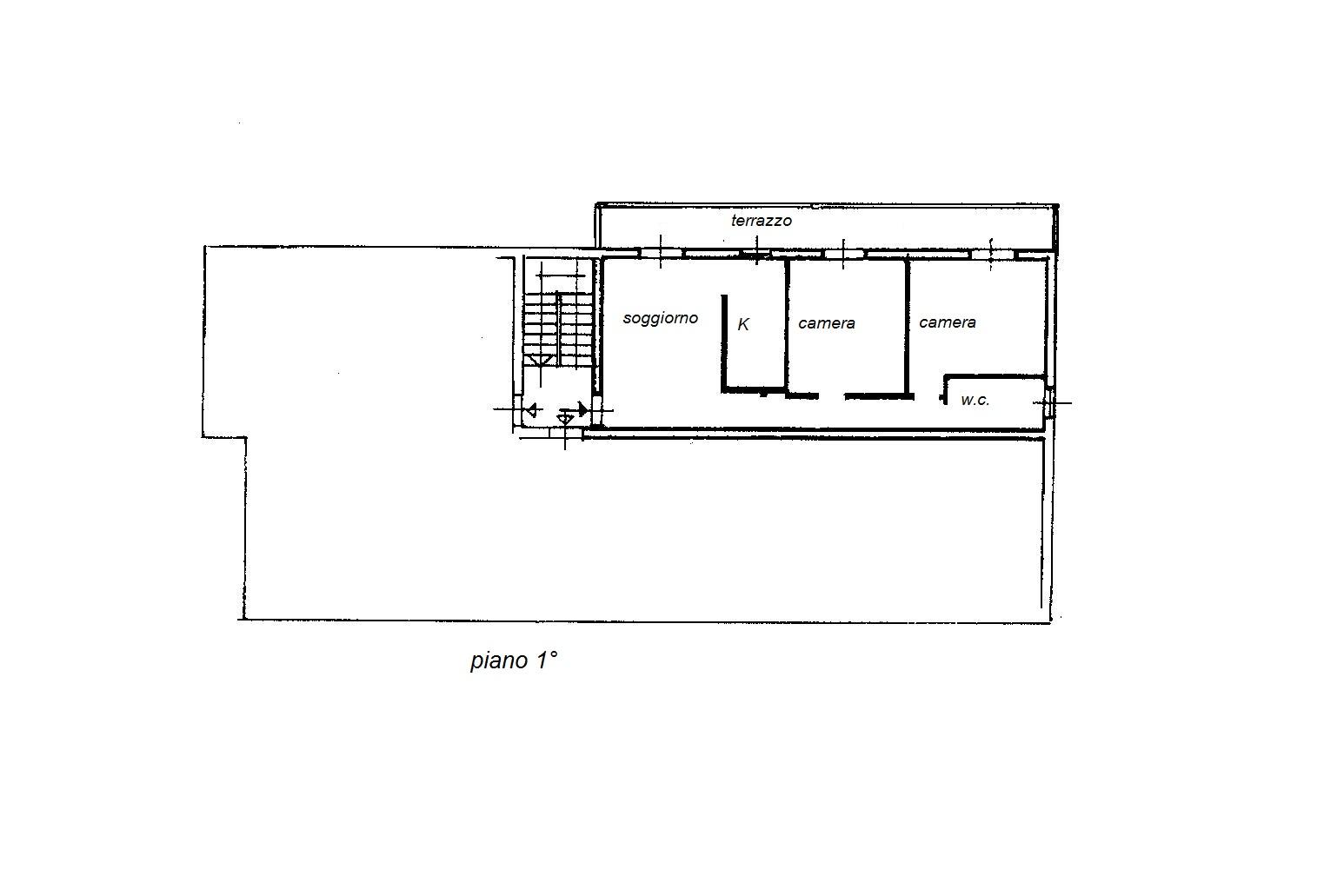 Planimetria 1/1 per rif. R/2700