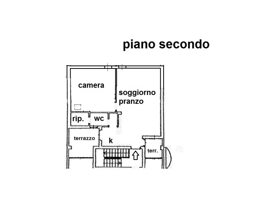 Planimetria 1/1 per rif. R/3263
