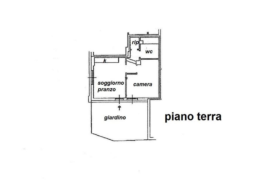 Planimetria 1/1 per rif. R/3266