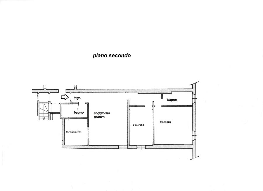 Planimetria 1/1 per rif. R/3267