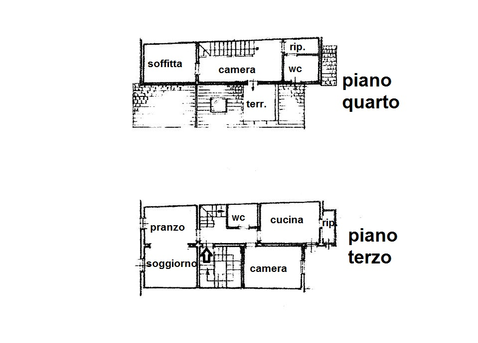 Planimetria 1/1 per rif. R/3260