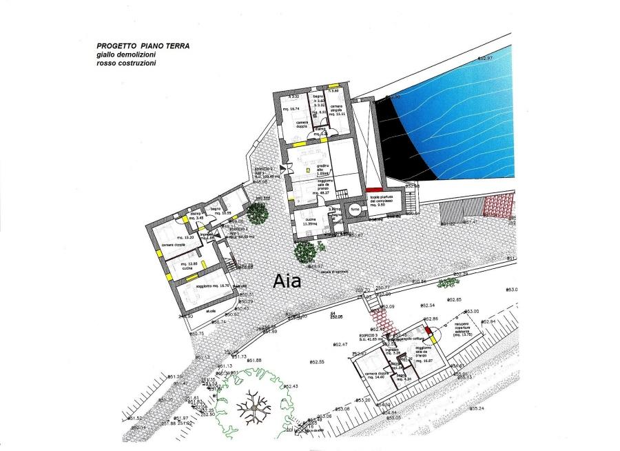 Planimetria 1/4 per rif. R/3102
