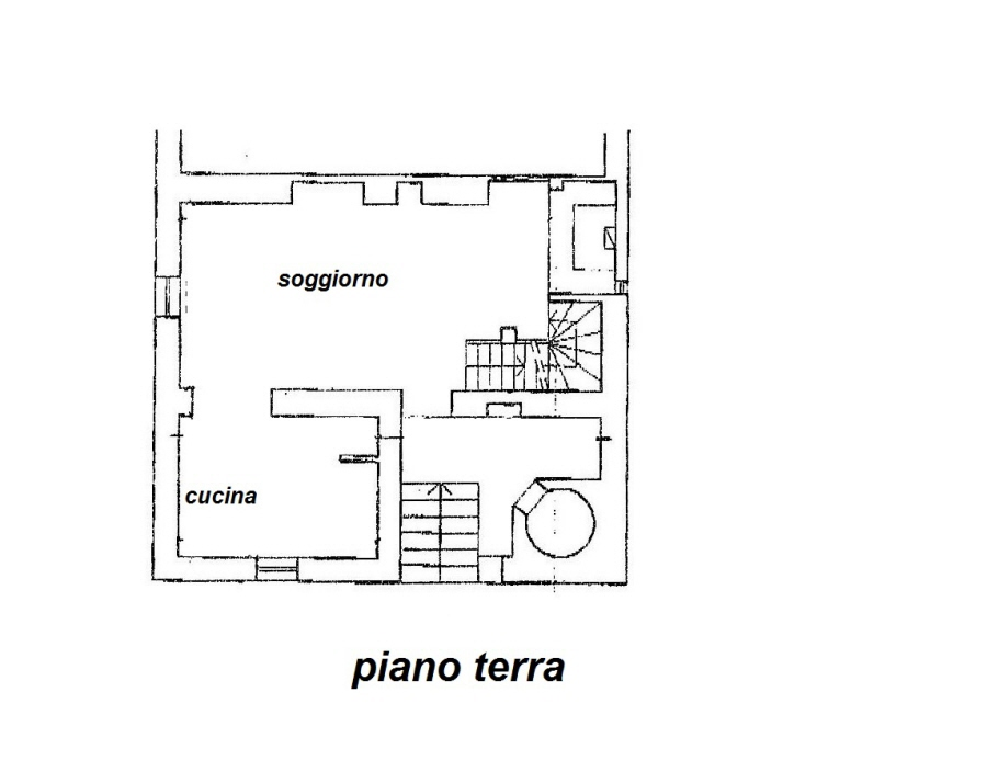 Planimetria 1/3 per rif. R/3101