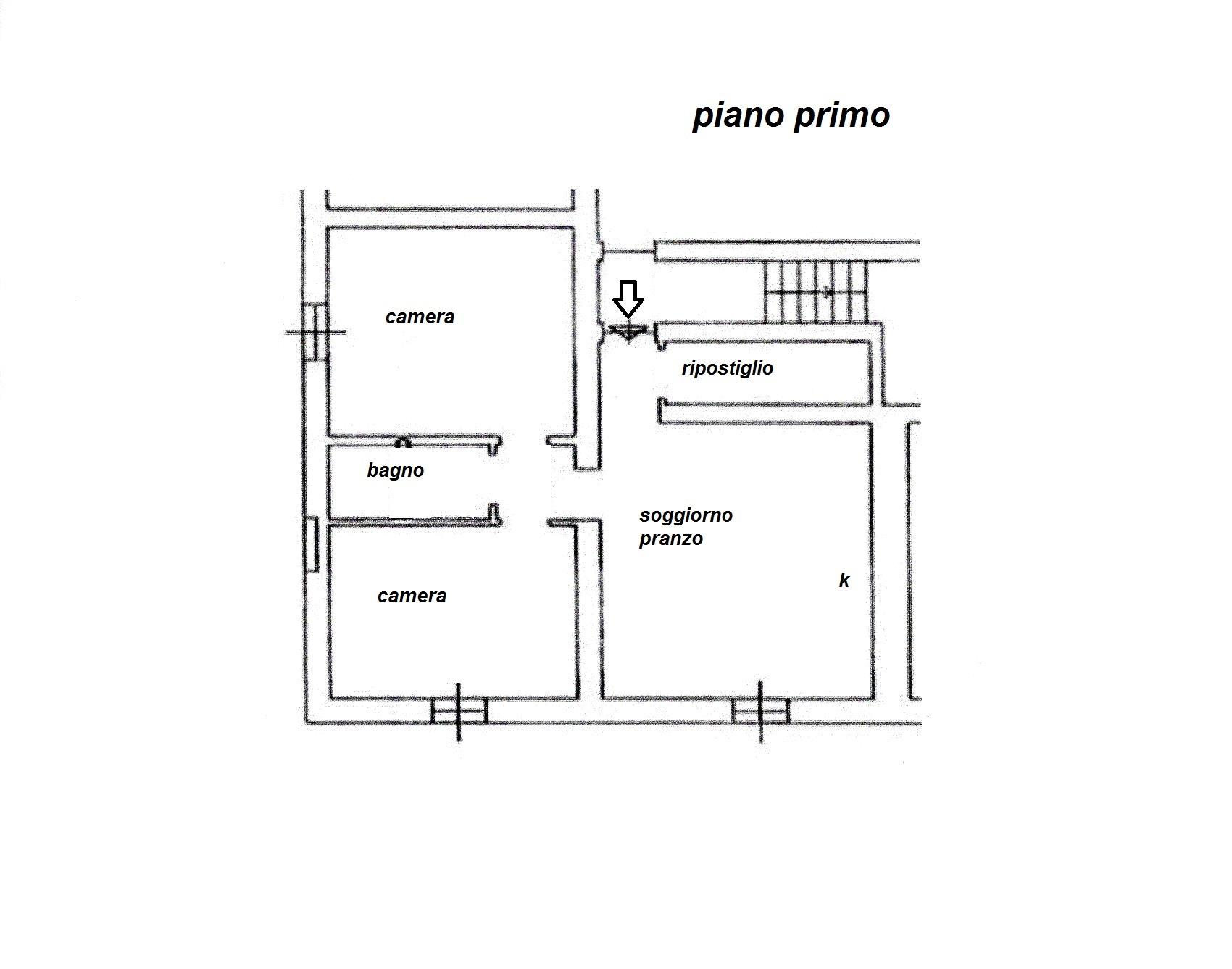 Planimetria 1/1 per rif. R/3211