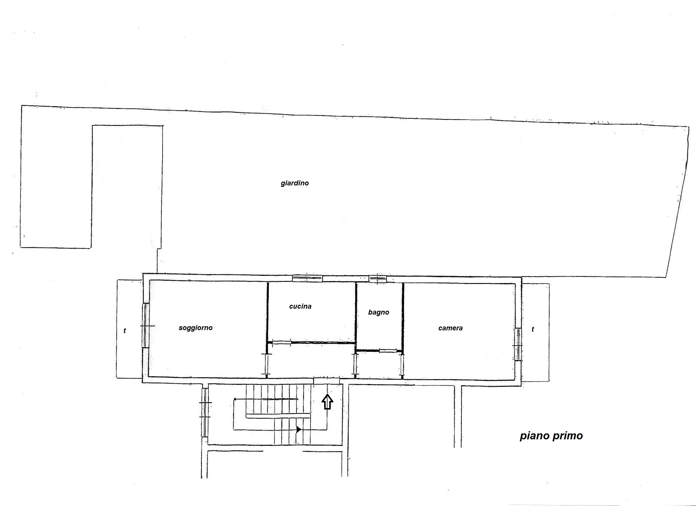 Planimetria 1/1 per rif. R/2853