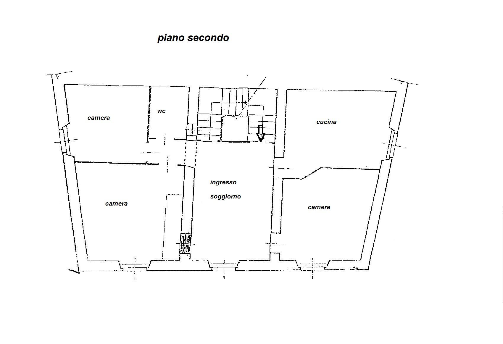 Planimetria 1/2 per rif. R/2781