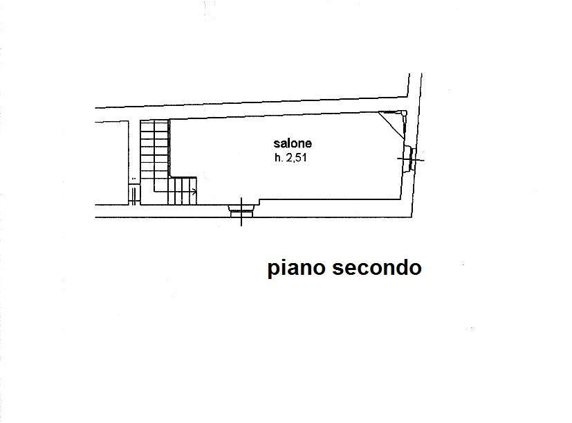 Planimetria 3/4 per rif. C/3180