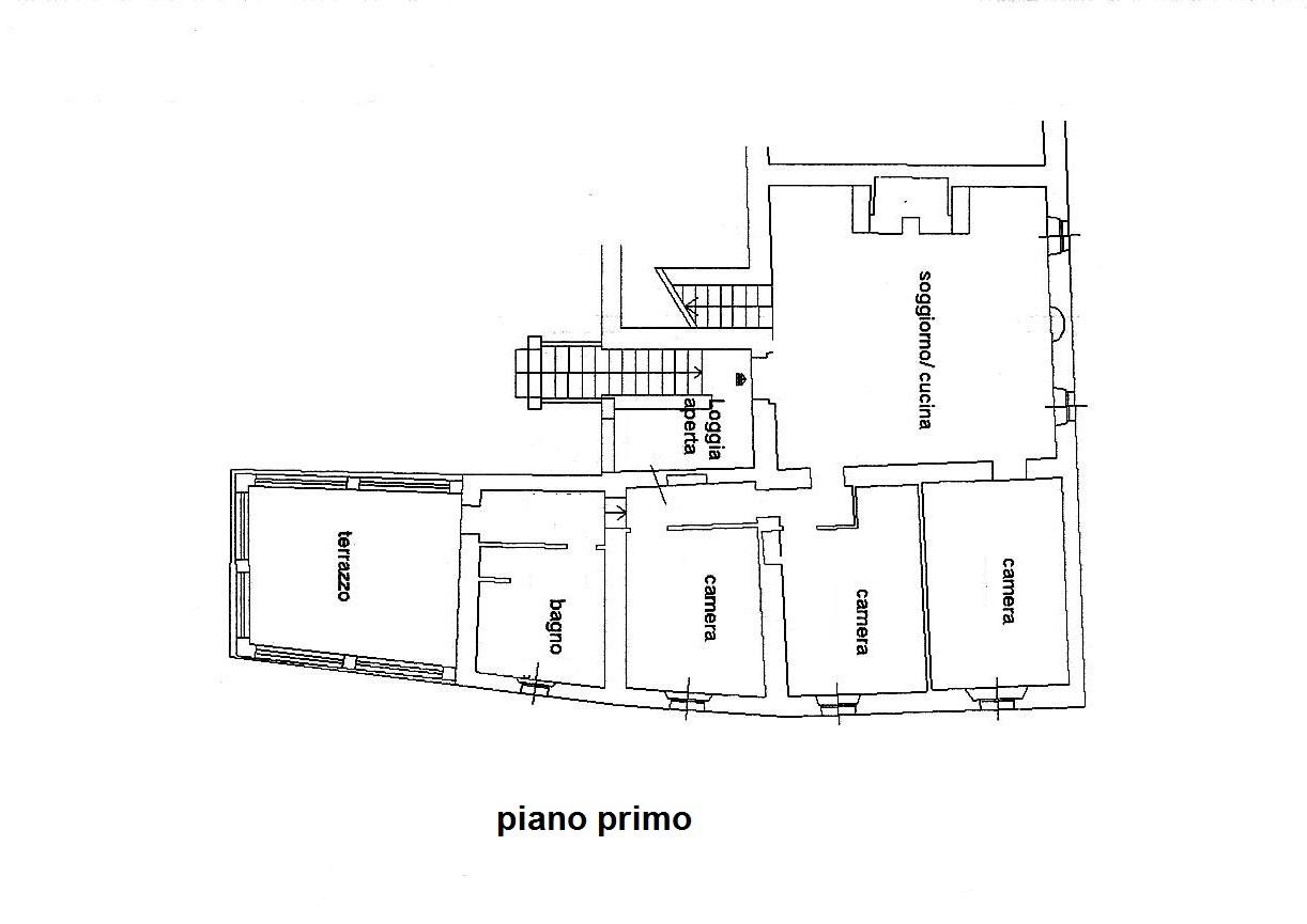 Planimetria 2/4 per rif. C/3180