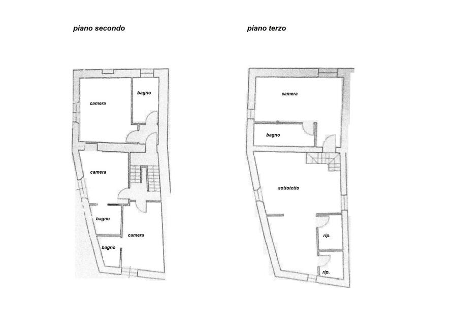 Planimetria 2/2 per rif. C/2990