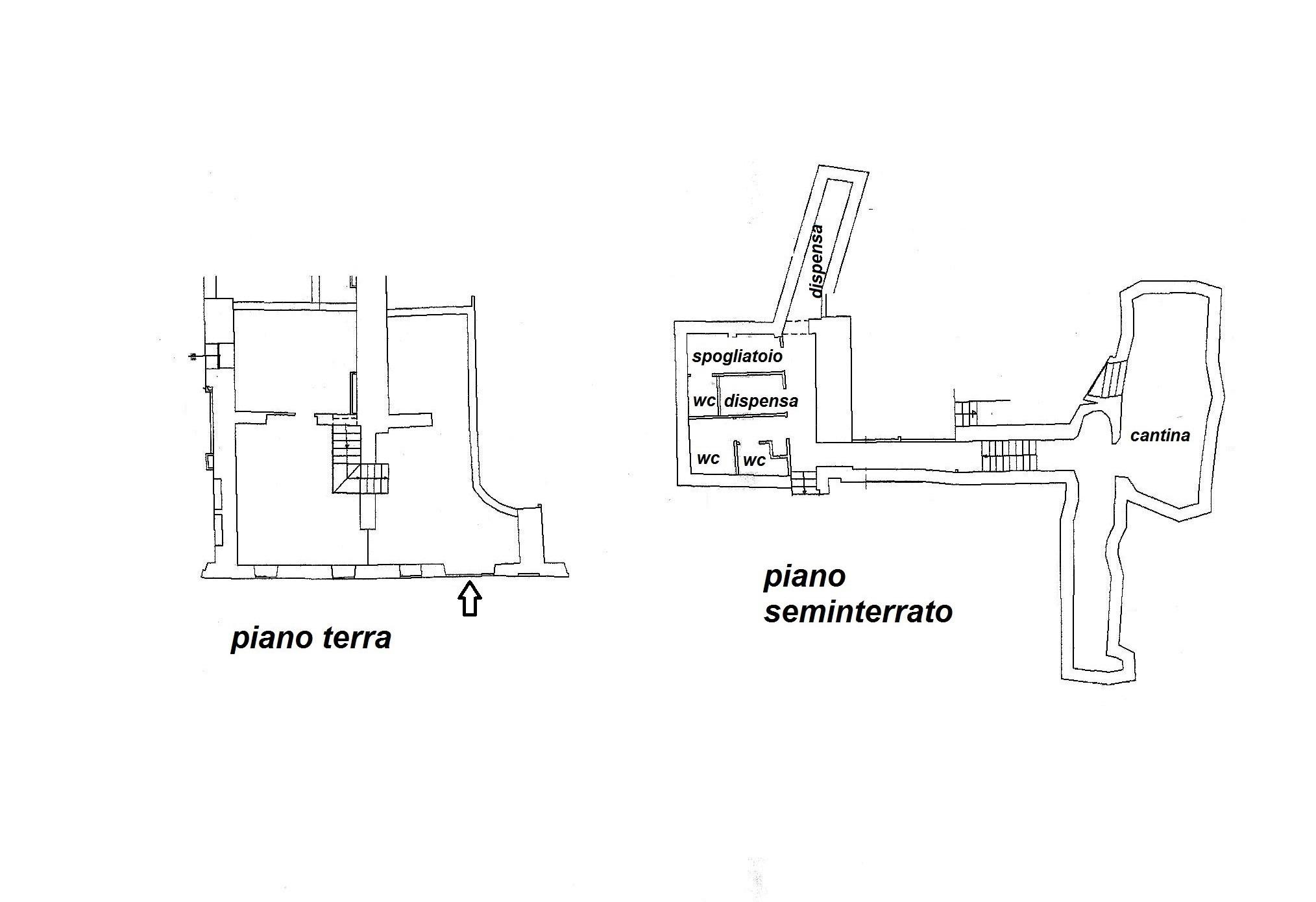 Planimetria 1/1 per rif. C/3100