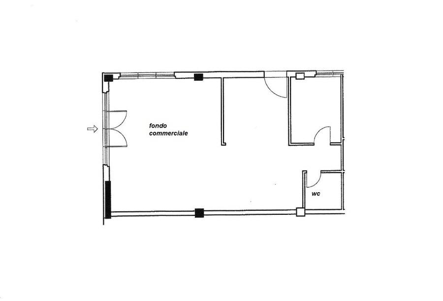 Planimetria 1/1 per rif. C/3074