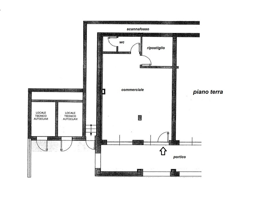 Planimetria 1/1 per rif. C/2985