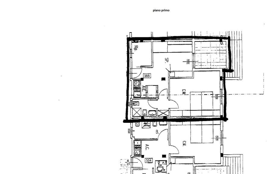 Planimetria 1/1 per rif. R/2294