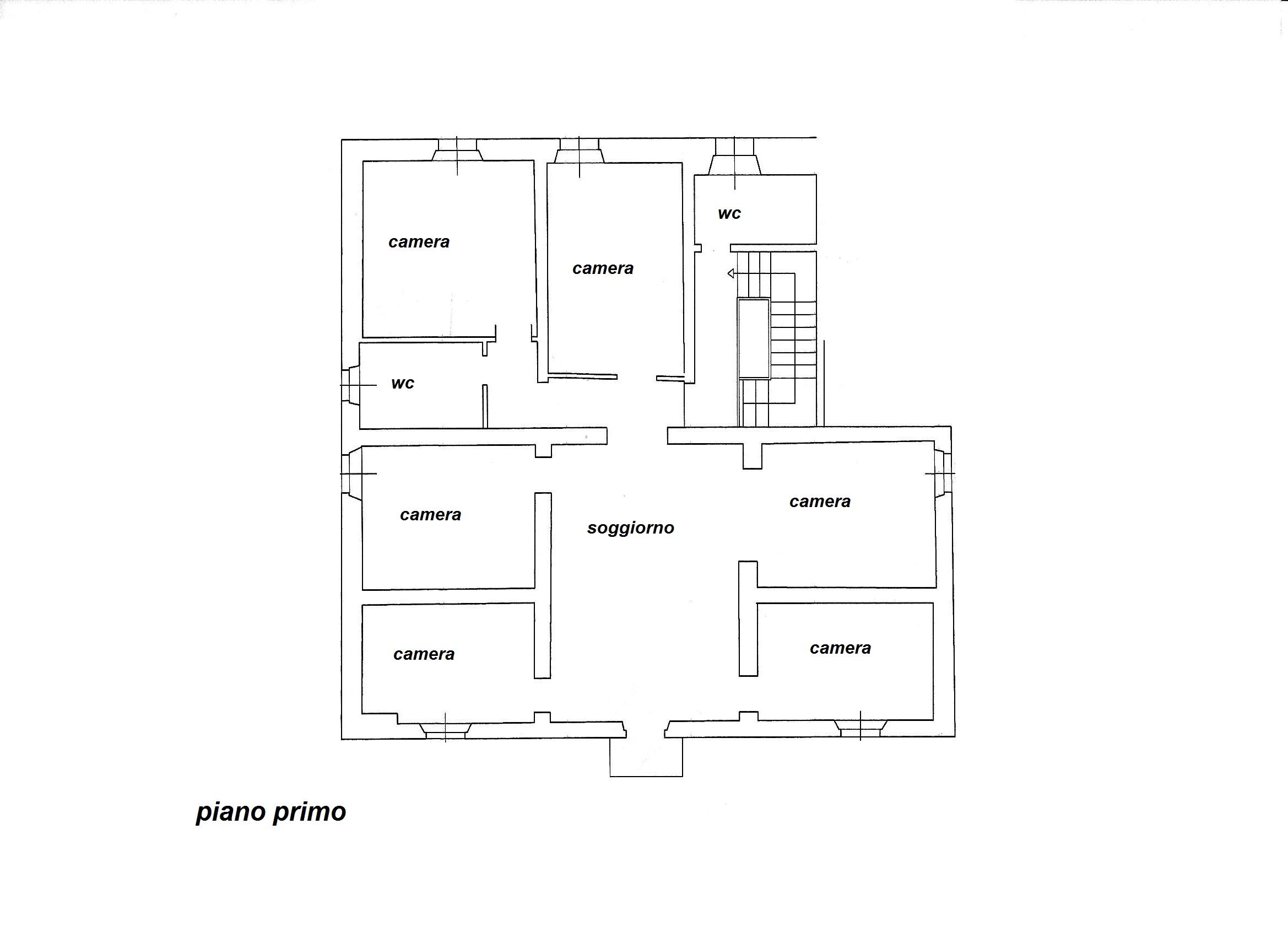 Planimetria 2/2 per rif. R/3281