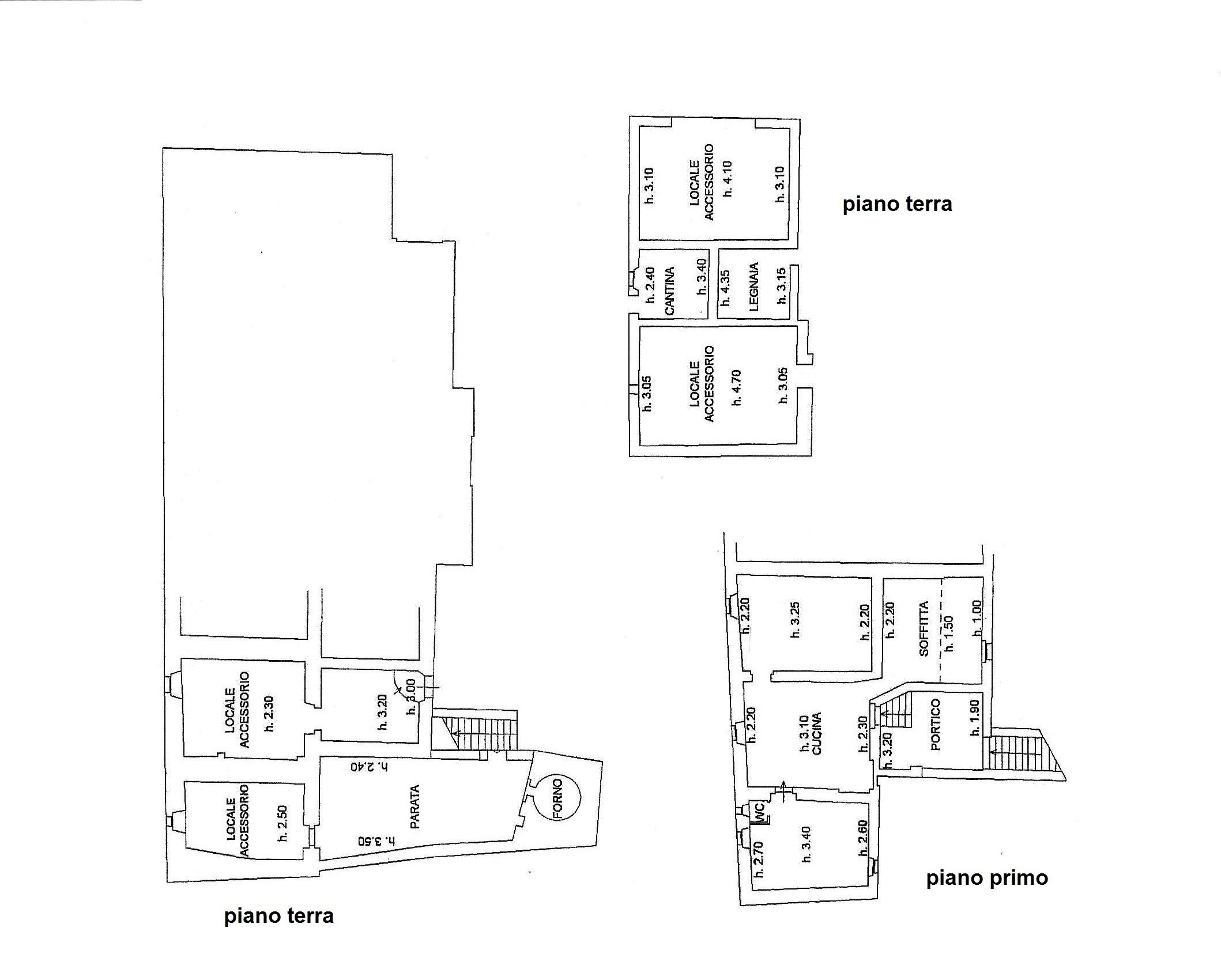Planimetria 3/3 per rif. R/3285