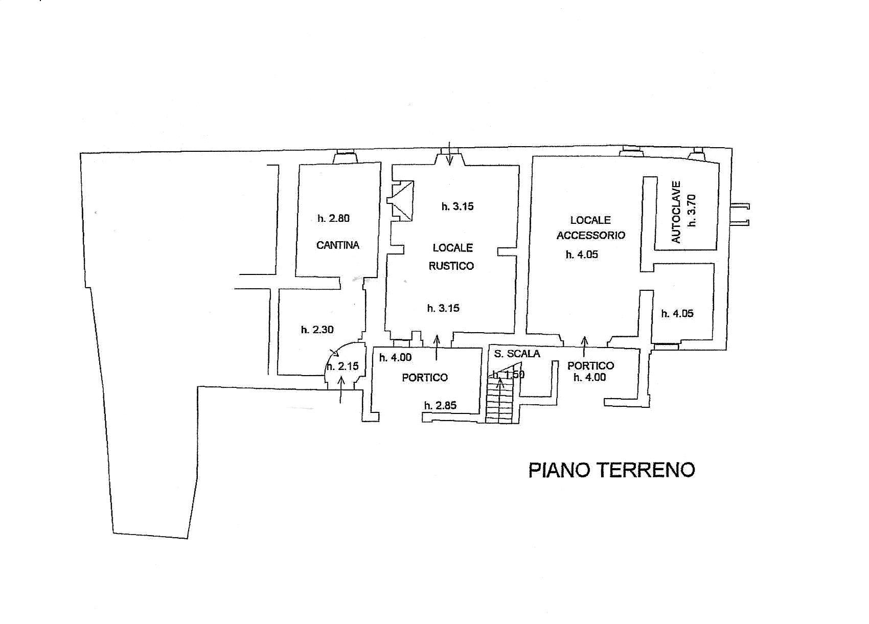 Planimetria 1/3 per rif. R/3285