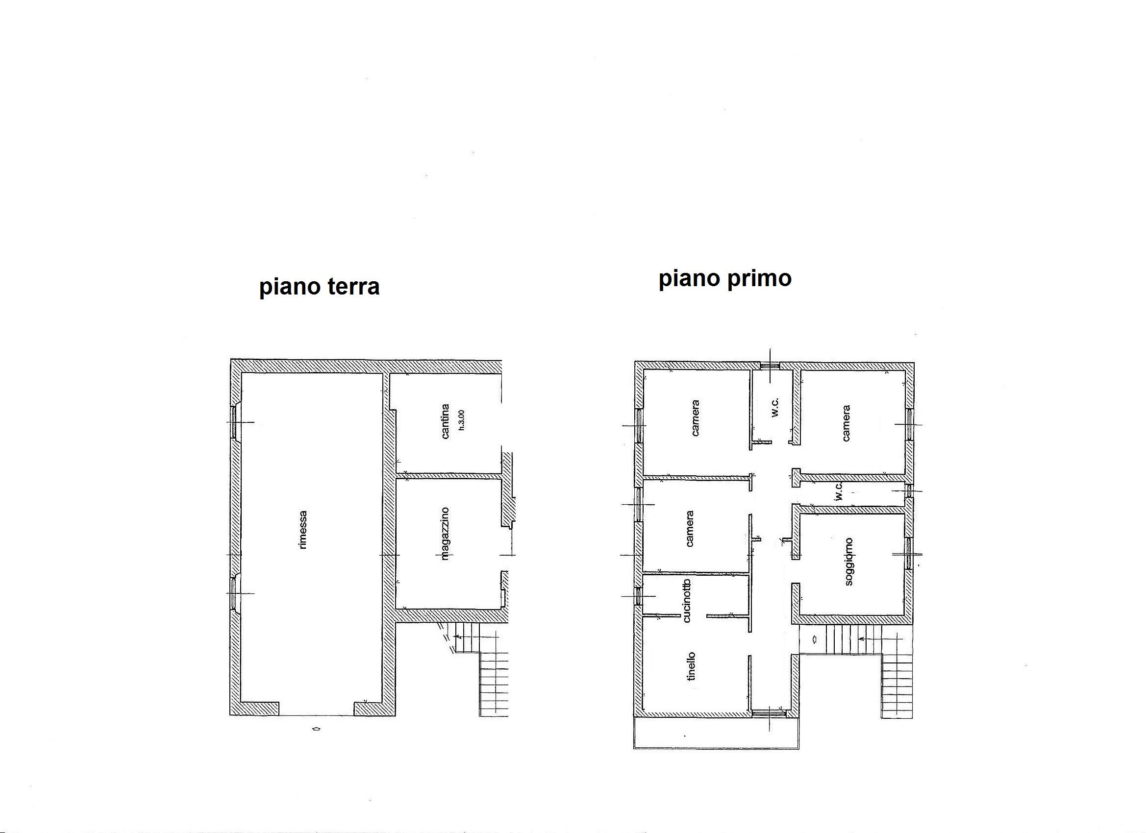 Planimetria 1/4 per rif. C/3289
