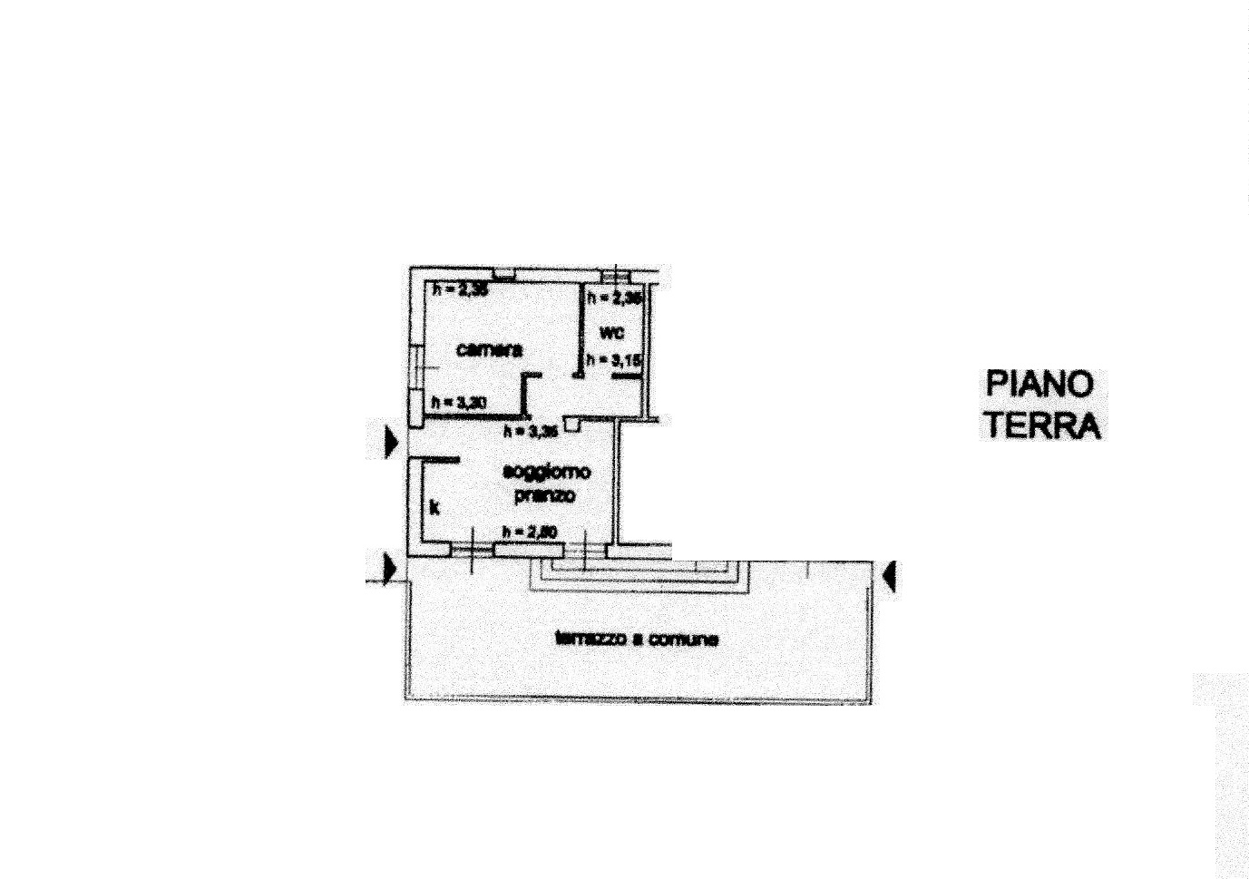 Planimetria 1/3 per rif. R/3293