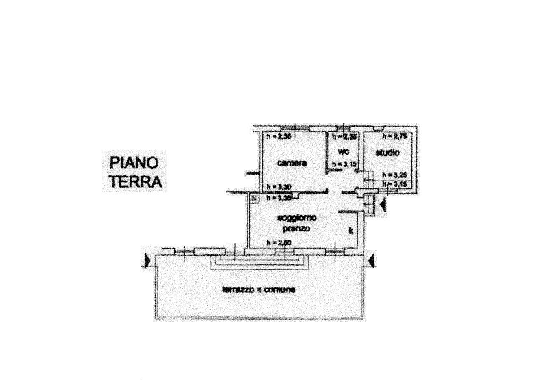 Planimetria 2/3 per rif. R/3293