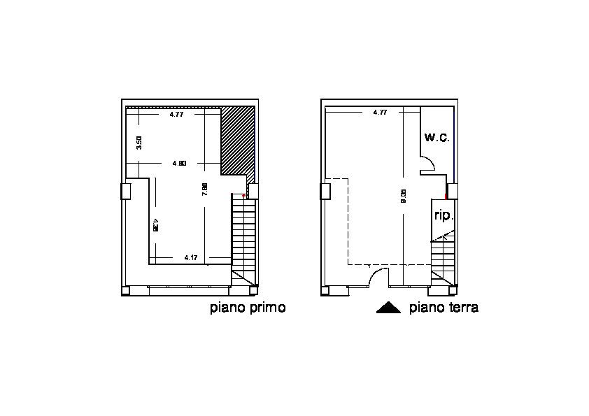 Planimetria 1/1 per rif. C/3294