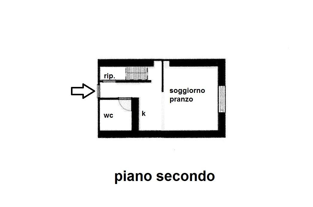 Planimetria 1/2 per rif. R/3296