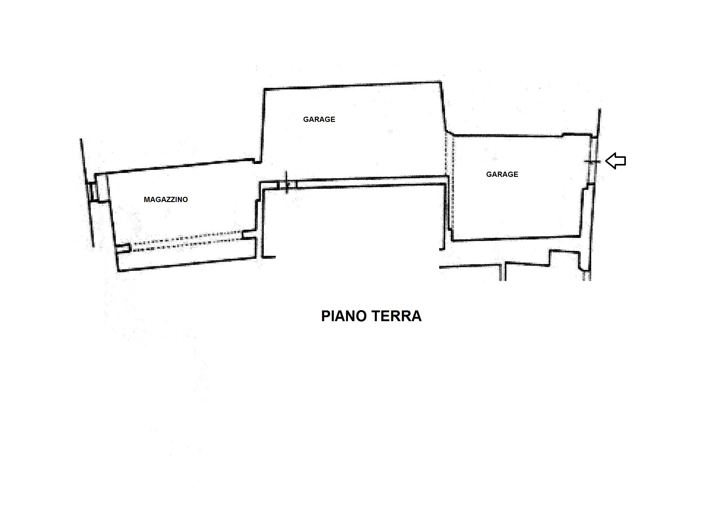 Planimetria 1/1 per rif. C/3300