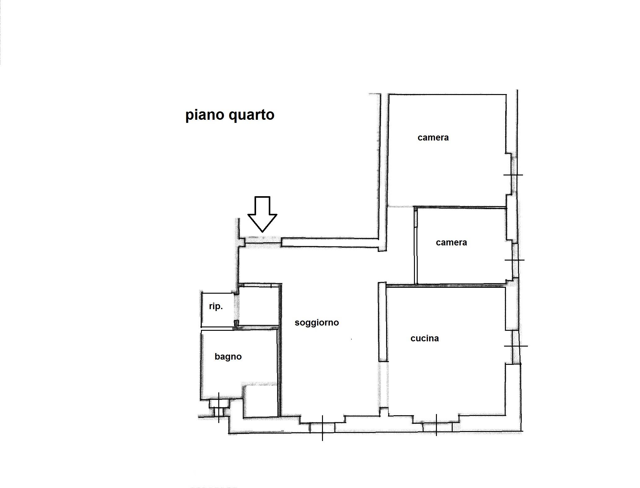 Planimetria 1/1 per rif. R/3305