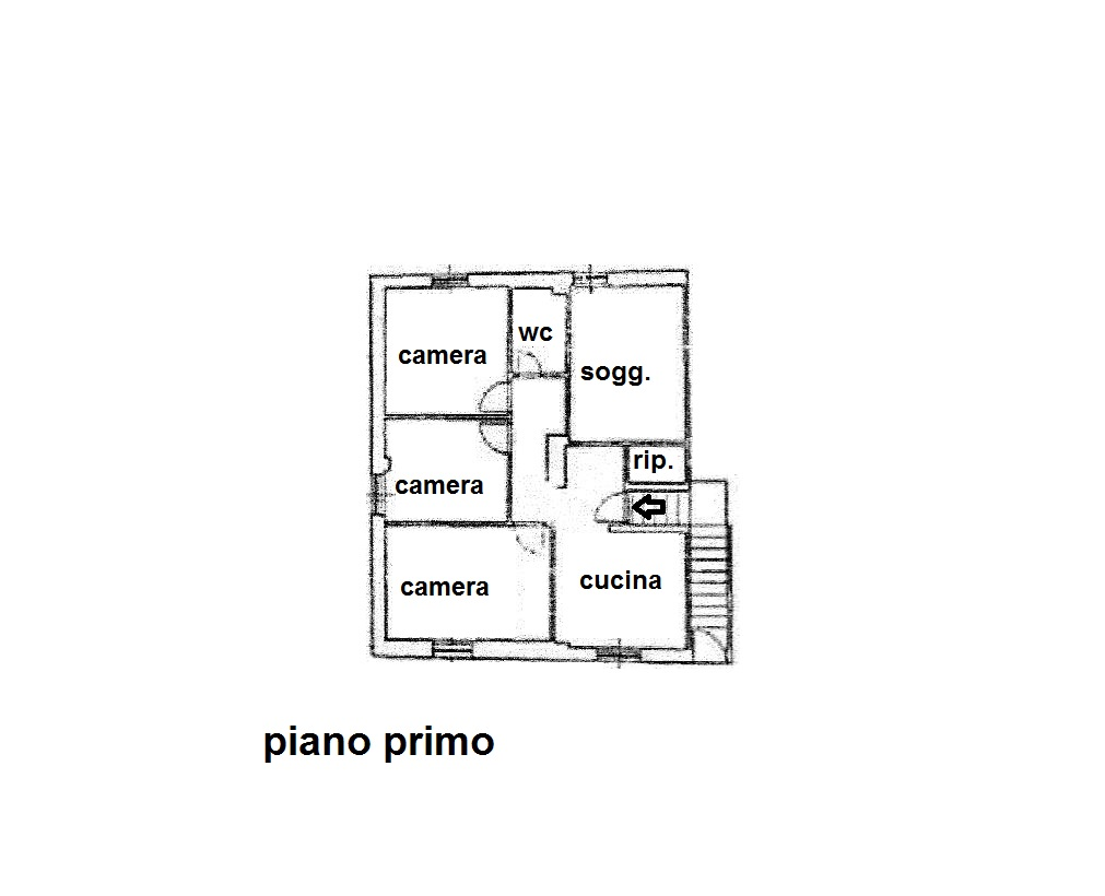 Planimetria 1/1 per rif. R/3306