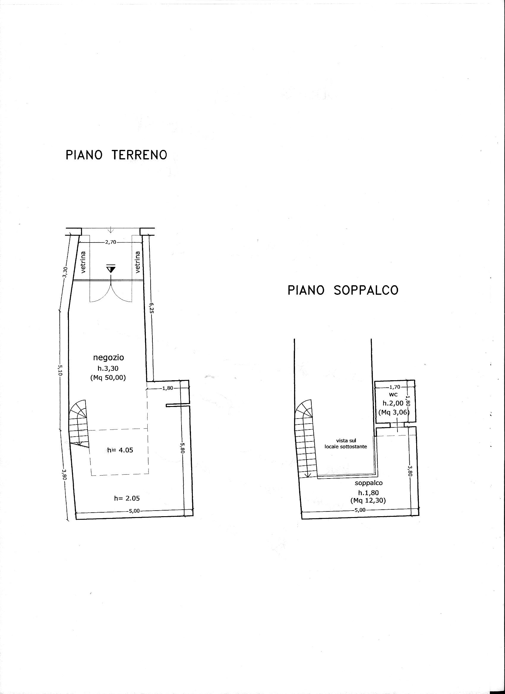 Planimetria 1/1 per rif. C/3308