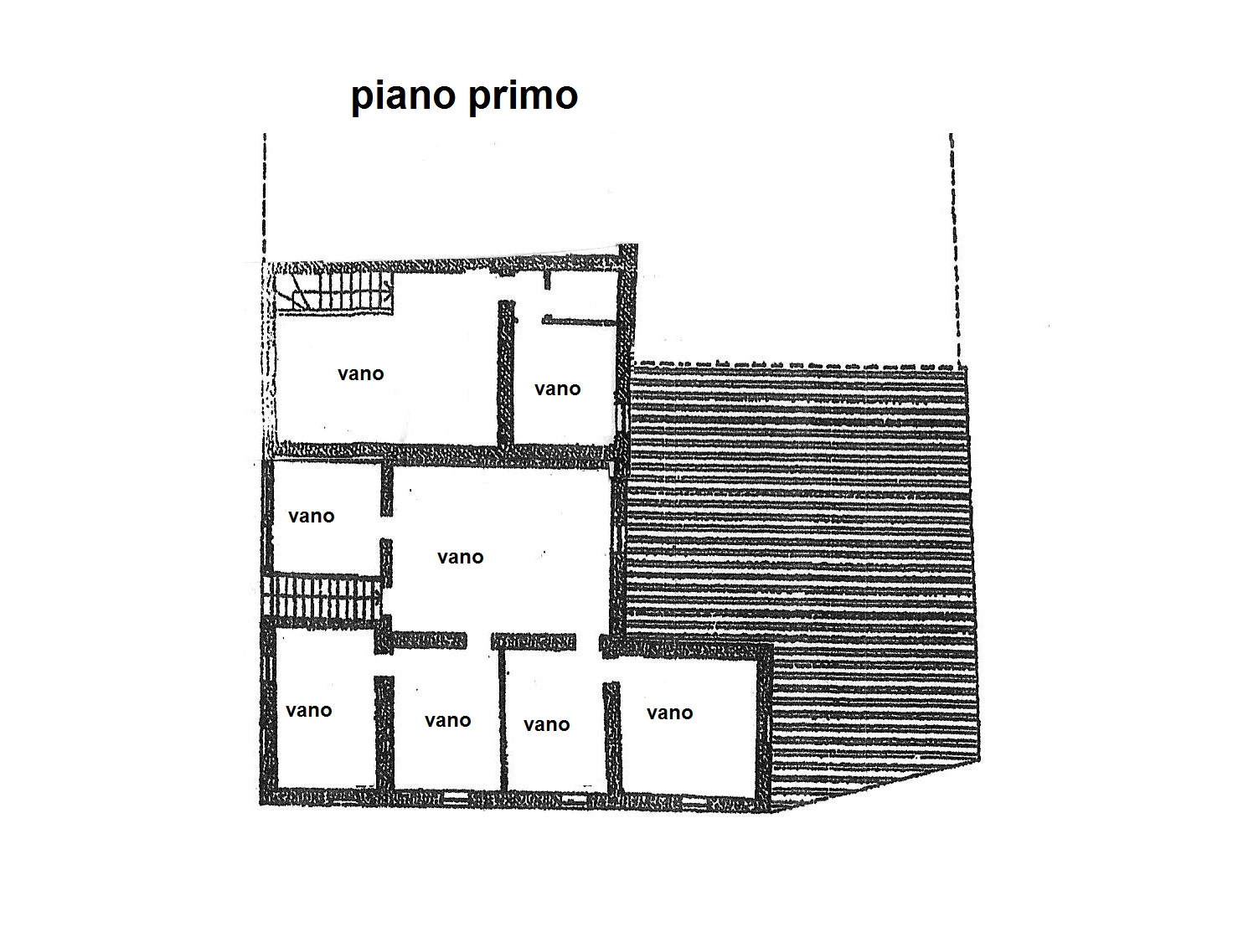 Planimetria 2/2 per rif. R/3312