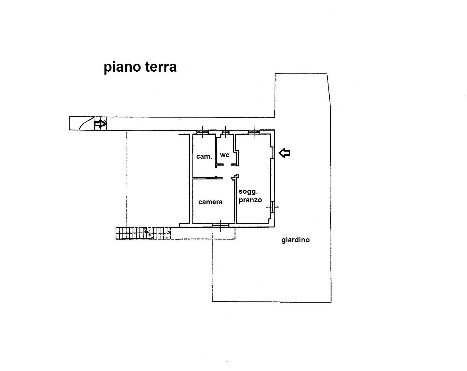 Planimetria 1/1 per rif. R/3314
