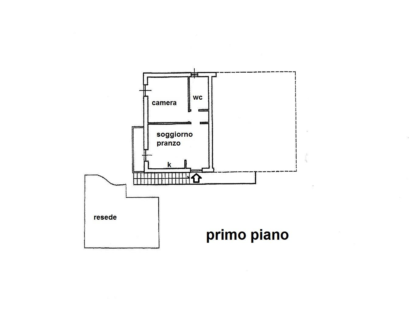 Planimetria 1/1 per rif. R/3315