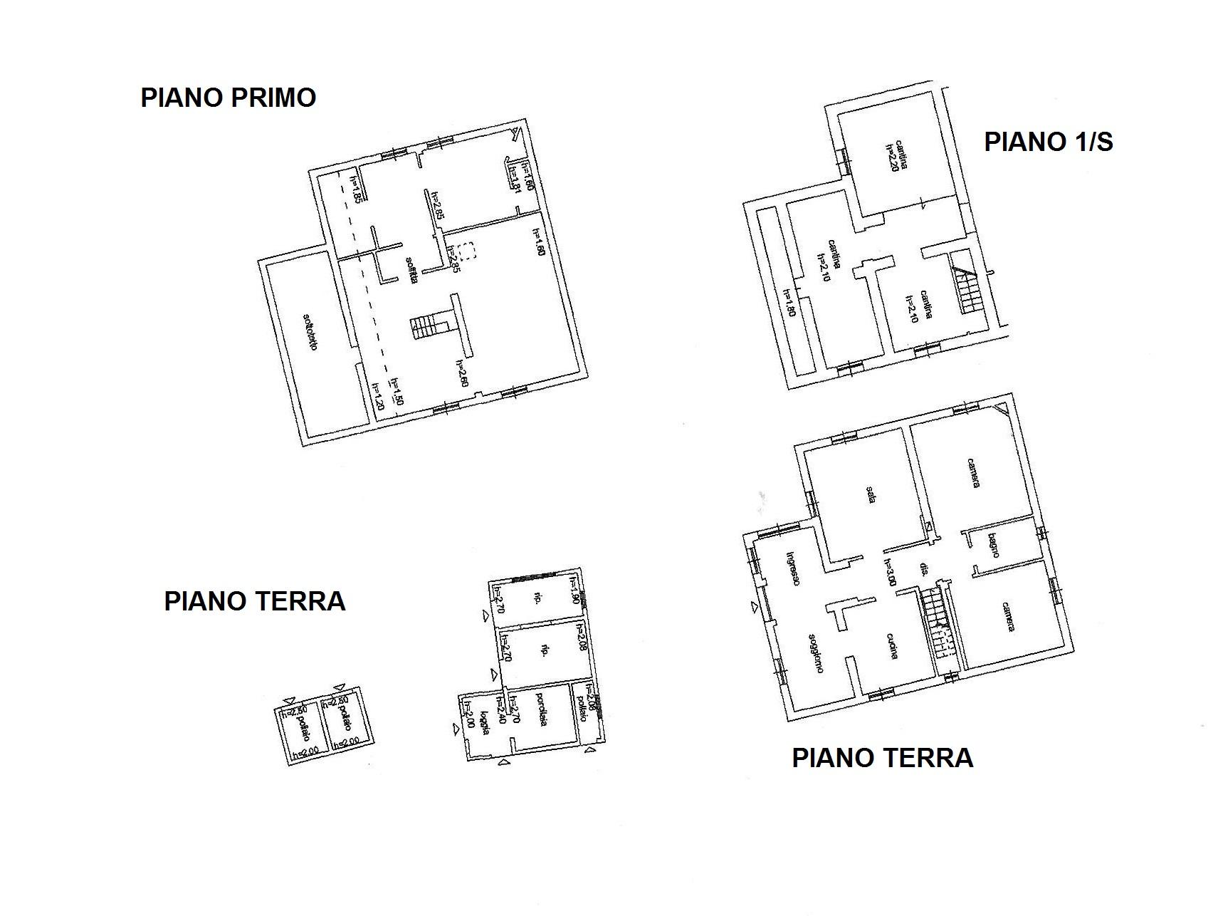 Planimetria 1/1 per rif. R/3317