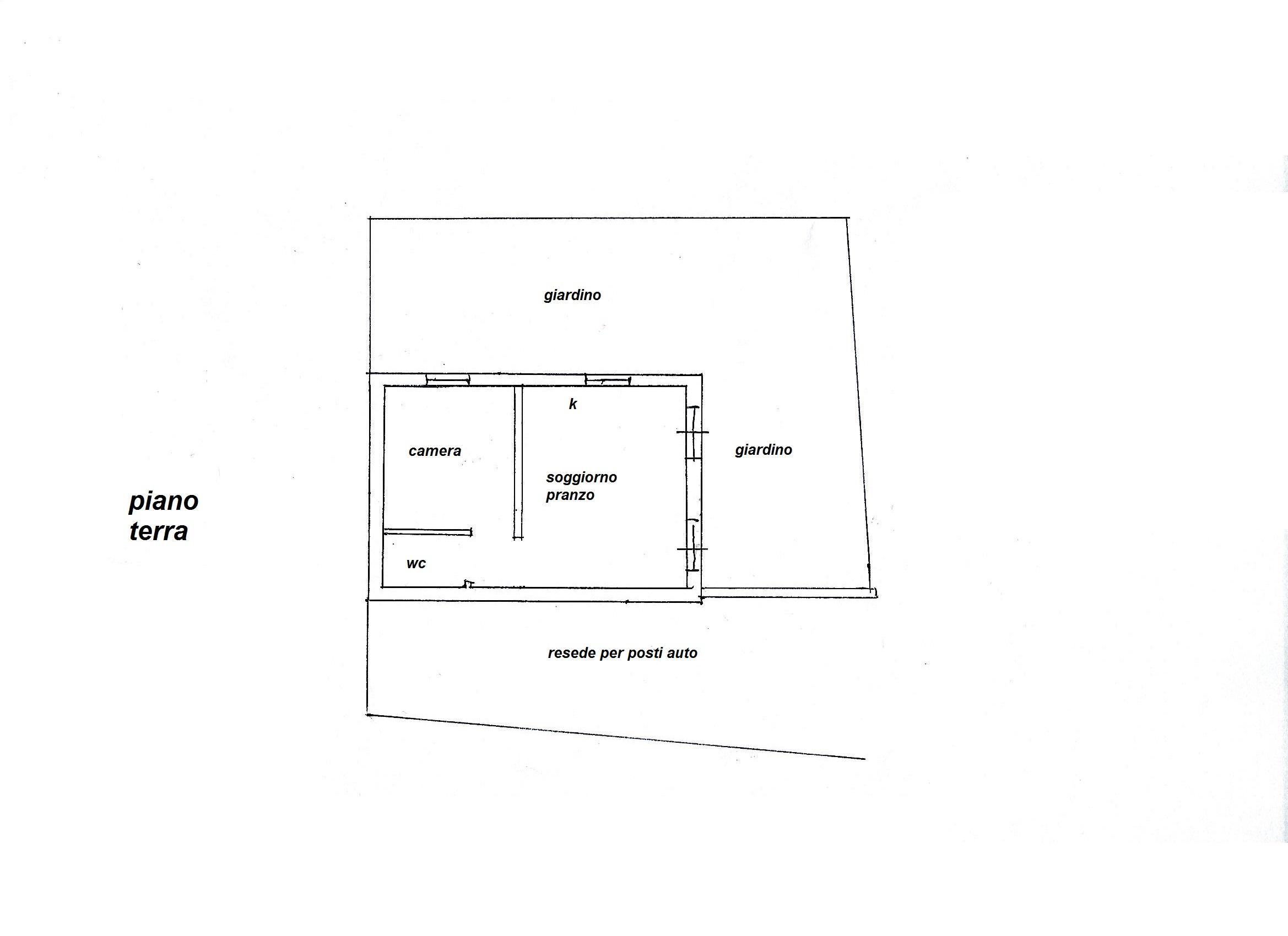 Planimetria 1/1 per rif. R/3320