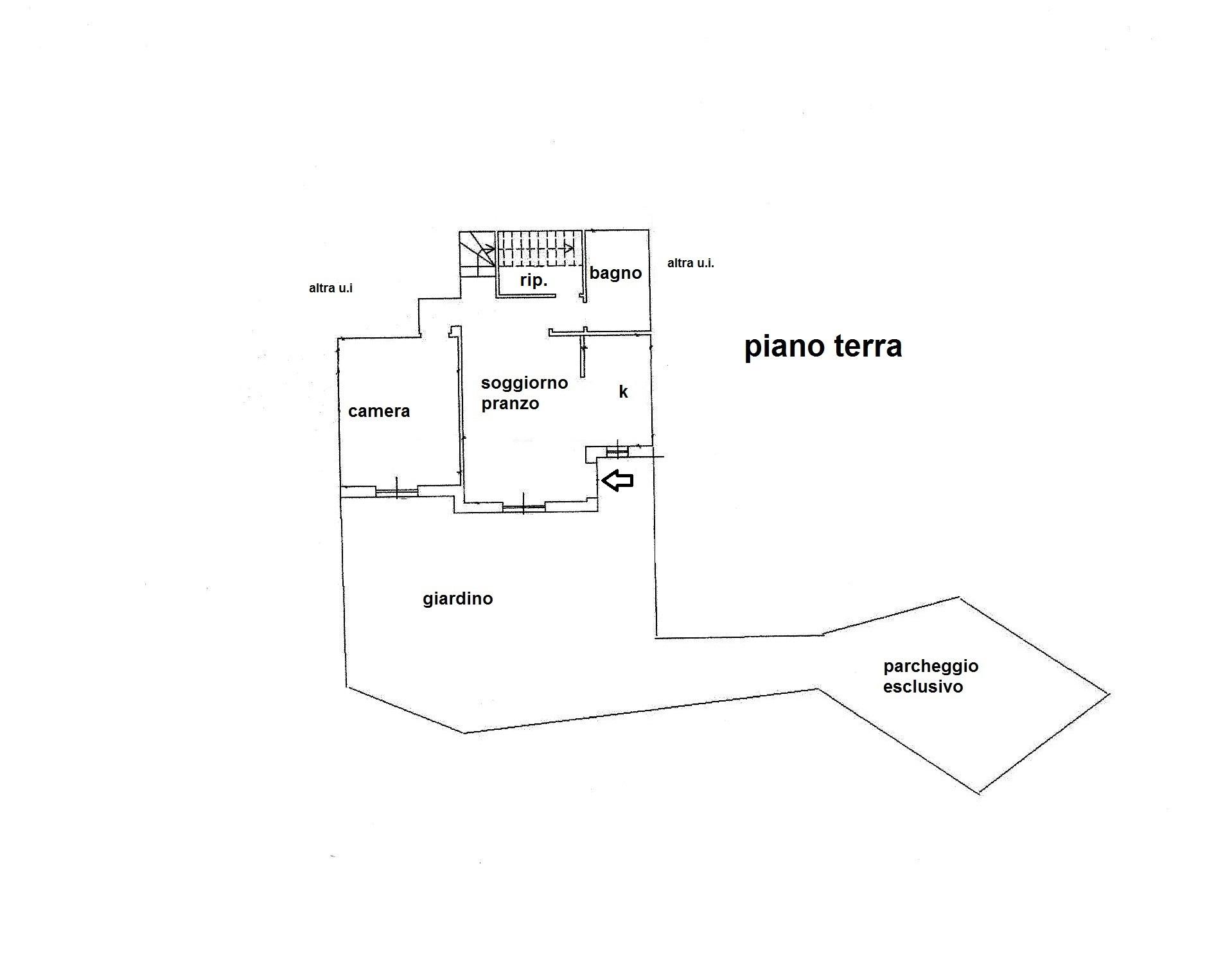 Planimetria 1/2 per rif. R/3322