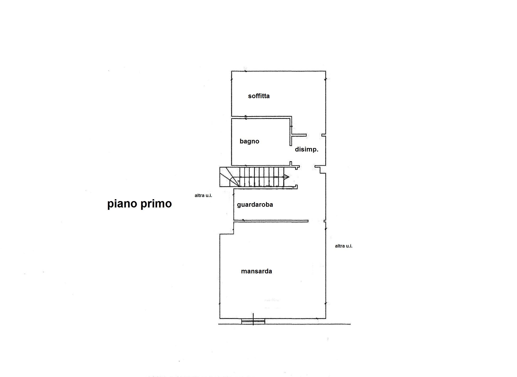 Planimetria 2/2 per rif. R/3322