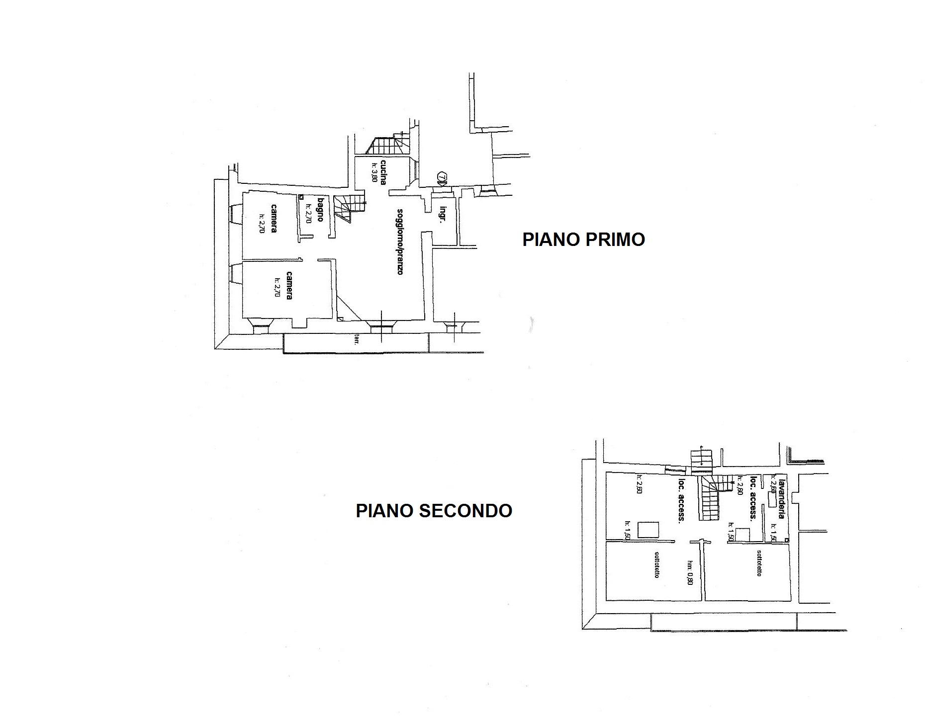 Planimetria 1/1 per rif. R/616
