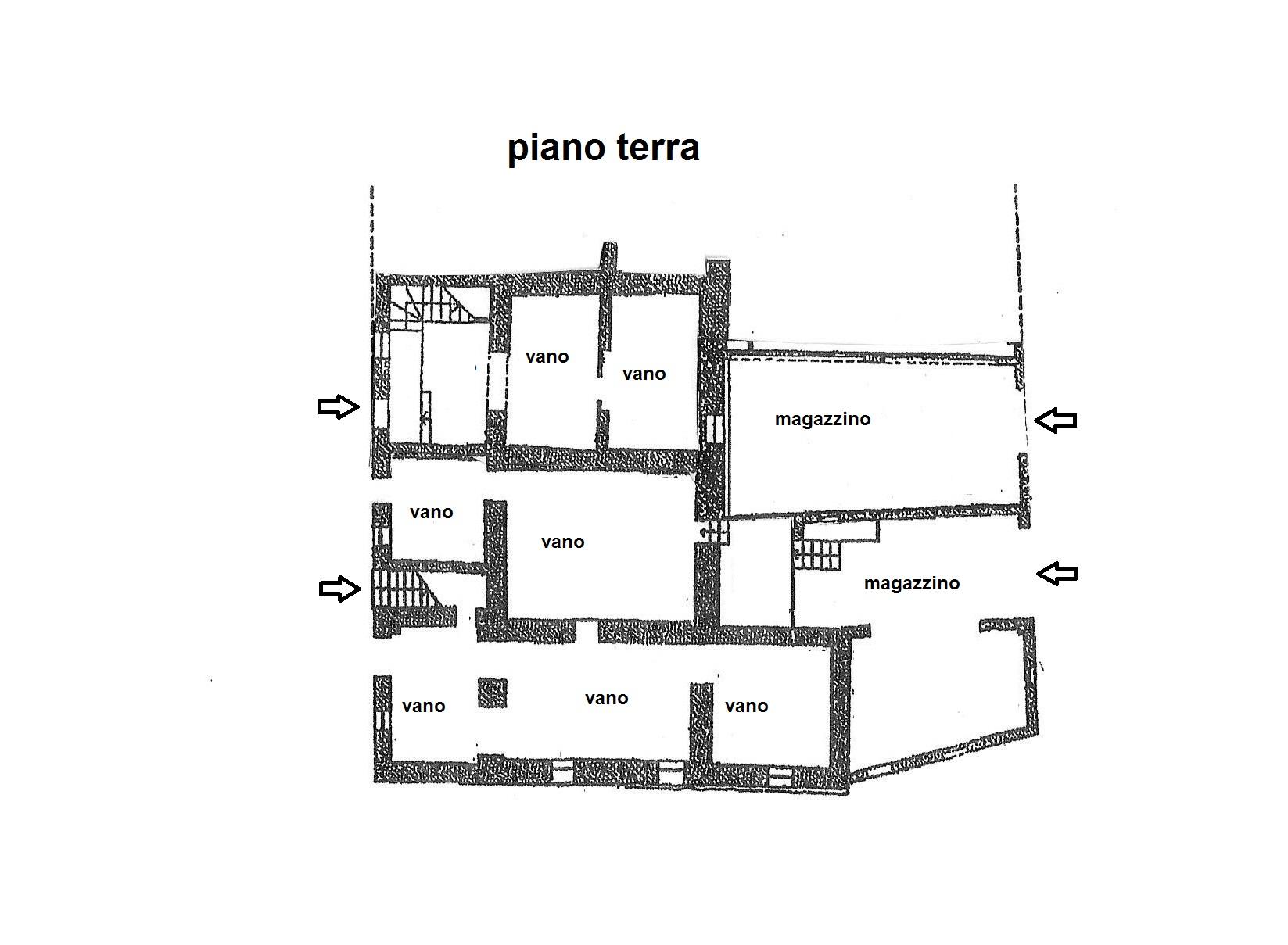 Planimetria 1/3 per rif. R/3330